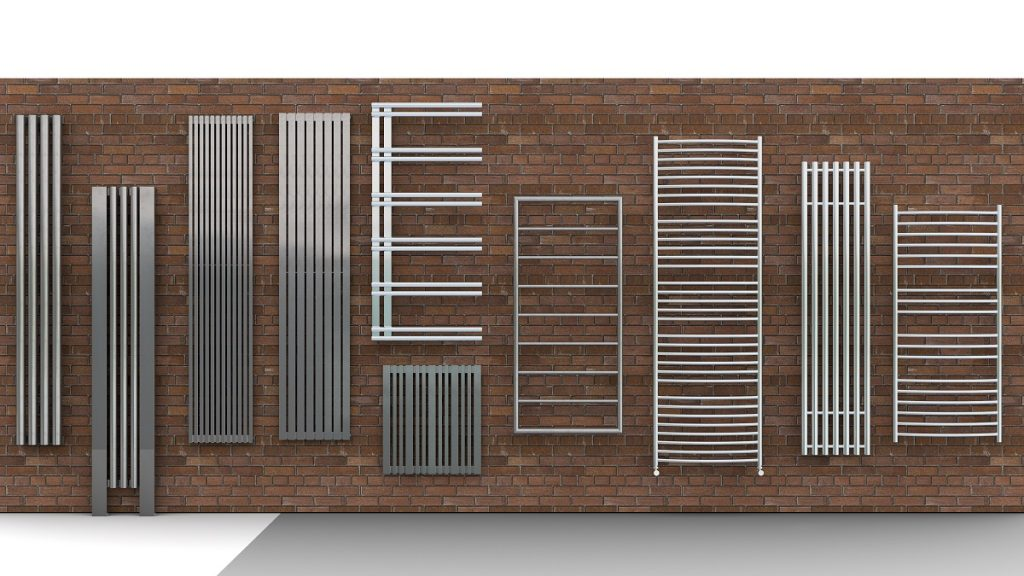 a variety of radiators